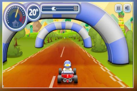 New Super Sprint Karts - Ultimate Car Race screenshot 3