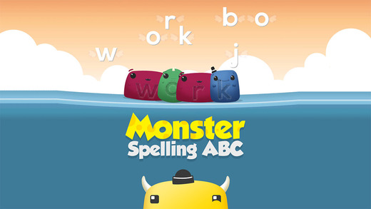 Preschool ABC Spelling Monsters: Phonic Sounds ABC Playtime Syllable Name Sound Combination Game for