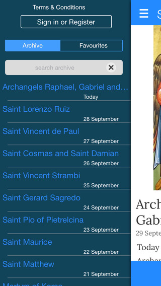 Saints of the Day