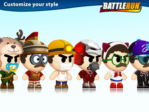 Screenshots of Battle Run for iPad