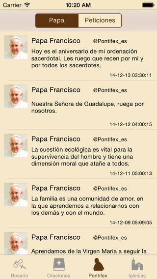 Santo Rosario Esp iPhone Screenshot 3