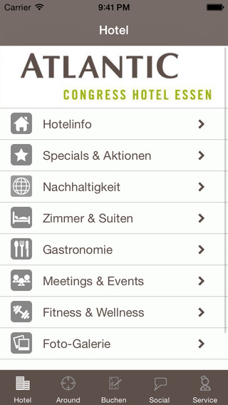 Atlantic Congress Hotel Essen iPhone Screenshot 1
