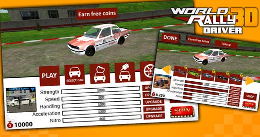 World Rally 3D Driver