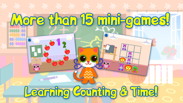 Educational Games For Children: Learning Numbers Time. Full Paid.