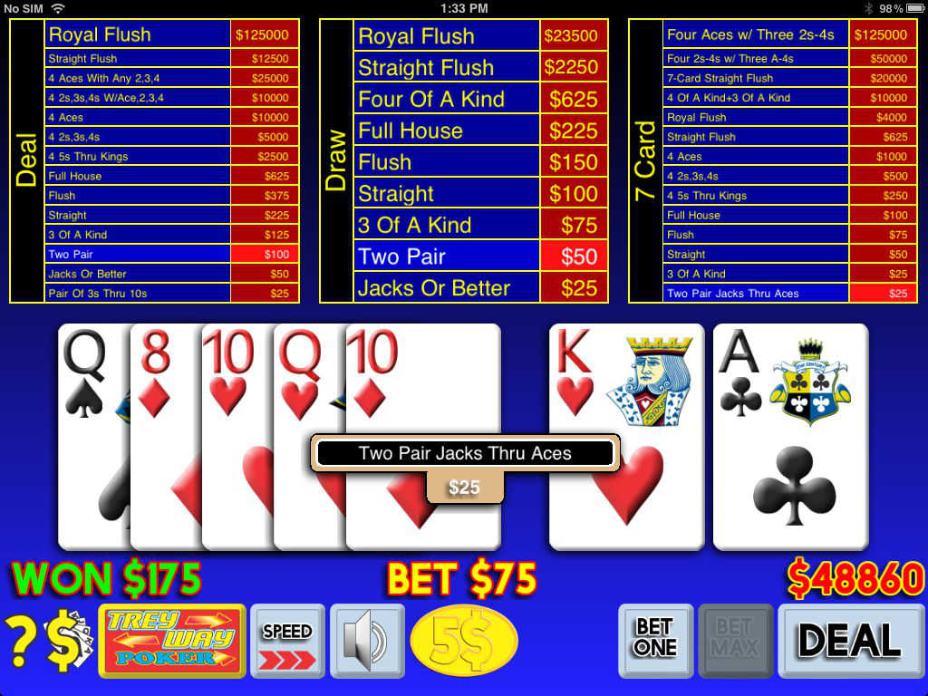 free Category/virtual Poker