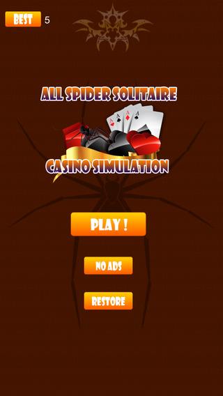 All Spider Solitaire Casino Simulation
