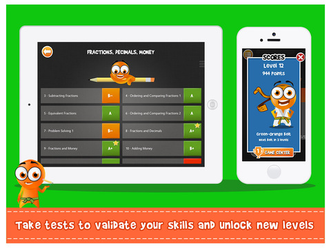 Screenshot #3 for iTooch 3rd Grade App | Math, Language Arts and Science
