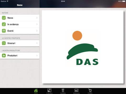 DAS Centro Sicilia per iPad