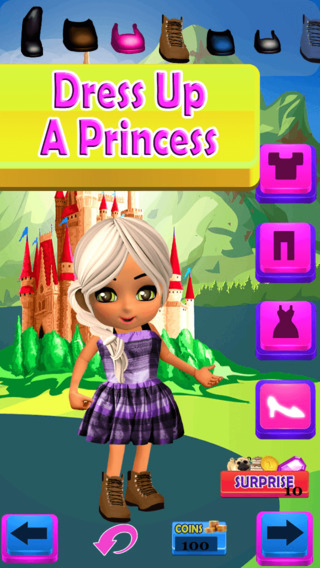 Little Princess Dress Up Game - Free App