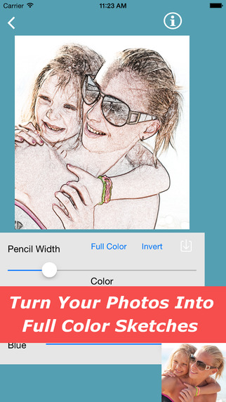 Sketch Camera for iPhone