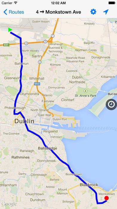 Dublin Bus Timetables iPhone Screenshot 3
