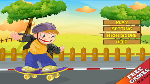 Speed In The Skate Park - Be A True Skater And Practice For A Drag Racing Challenge
