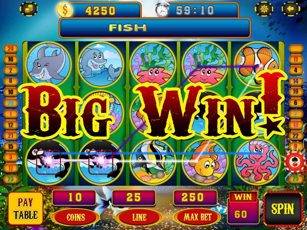 777 blast fish slot machines gold casino slots win the for Big fish casino free slot games