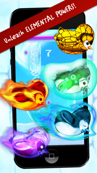 Ice Flap Penguin - Kid Safe Edition