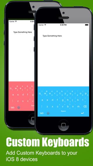 ColorKey - Custom Keyboard Colors for iOS 8