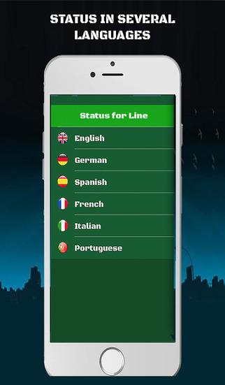 Status for Line