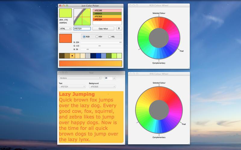 Just Color Picker Screenshot - 1