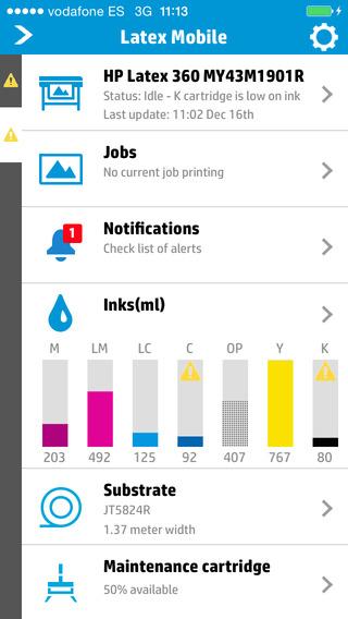 HP Latex Mobile