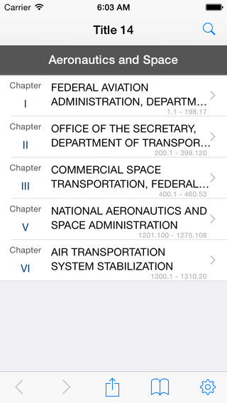 14 CFR - Aeronautics and Space Title 14 Code of Federal Regulations