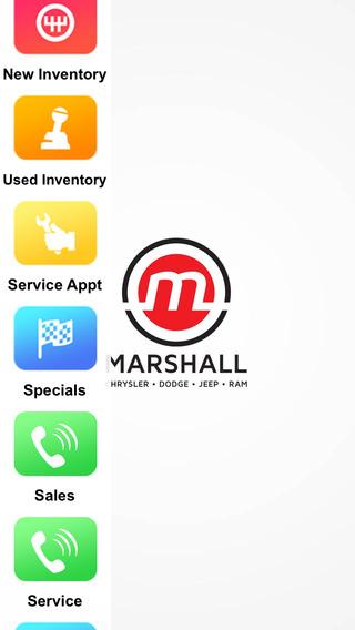 Marshall Chrysler Dodge Jeep Dealer App