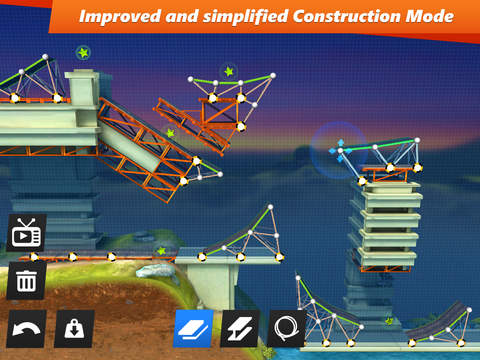 Bridge Constructor Stunts Screenshots