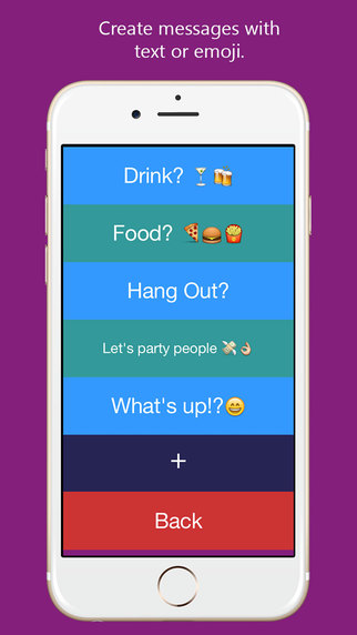 BuzzApp - Tap to Message
