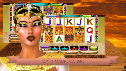 Egypt Magic Casino - Slot Machine Game