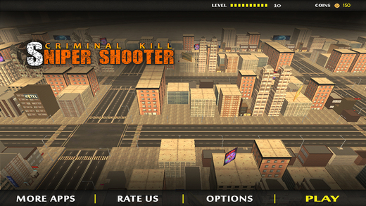 City Sniper Shooter Criminal Kill - Contract to Eliminate Gangsters Thief Robbers from Town