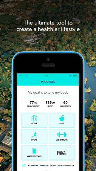 BodyWise: Health & Wellness Tracker Screenshot