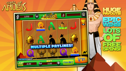 Aaaalibaba Aanother Slots Curse of Anubis FREE Slots Game