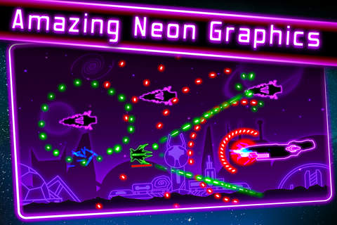 Neon War Machines - A retro style SHMUP screenshot 3
