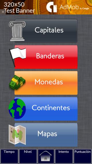 Geografía Memoria Español Gratis