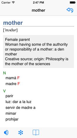 German-Polish Talking Dictionary iPhone Screenshot 2