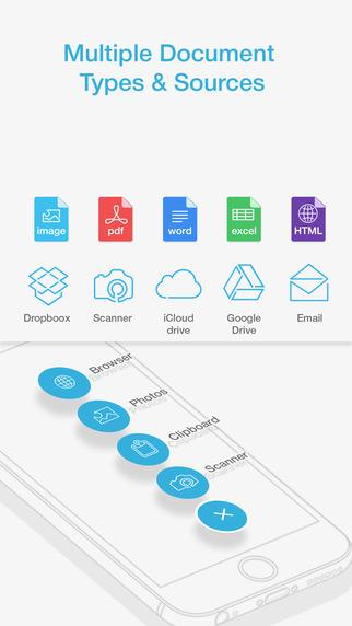 Docs & Works - сканируйте бумаги, заполняйте формы и подписывайте документы с легкостью! Screenshot