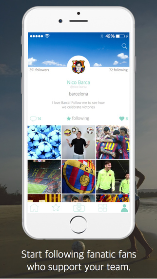 Fanzpic - join your favorite football team