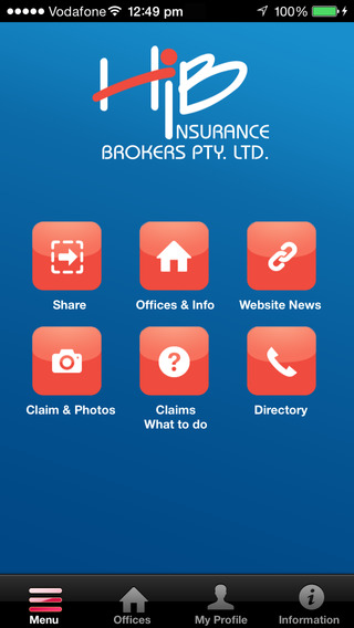 HIB Insurance Brokers App