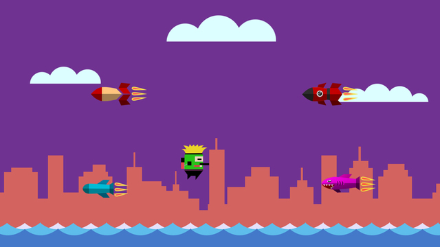 Rocket Missile - Rocket Hero Runner