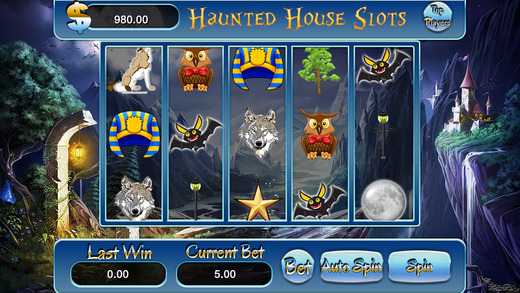 AAA Haunted Tower Casino Slots Machine - Feel Super Jackpot Party and Win Megamillions Prize