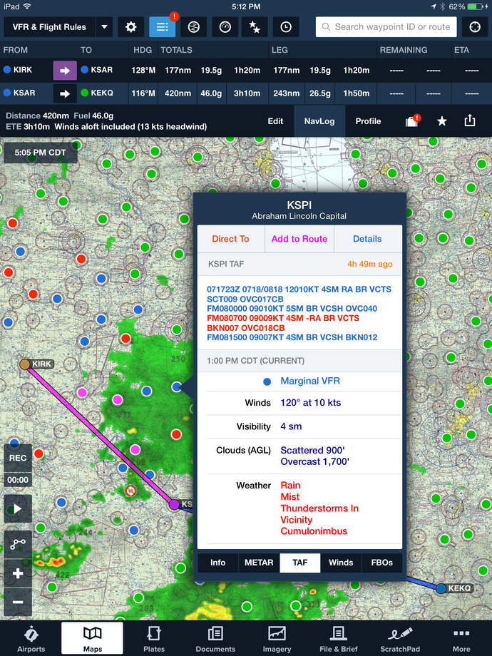 ForeFlight Mobile - iPhone Mobile Analytics and App Store Data