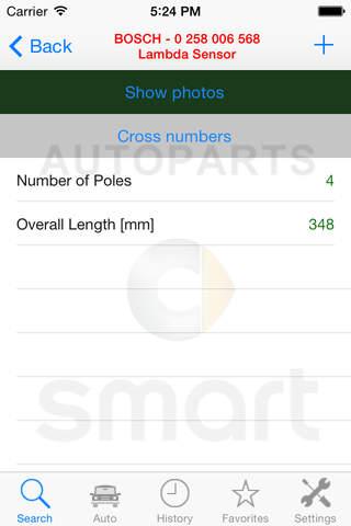 Autoparts for Smart screenshot 3