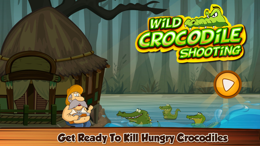 Wild Crocodile Shooting
