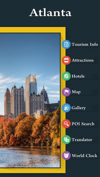 Atlanta Guide iPhone Screenshot 2