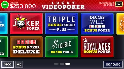 Screenshot 5 Лаки Видео Покер — бесплатно Видео Покер Обучение и моделирование