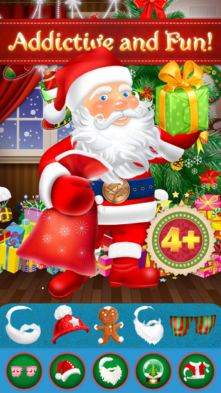 Design My Father Christmas Festive Crazy Party Game - Advert Free App