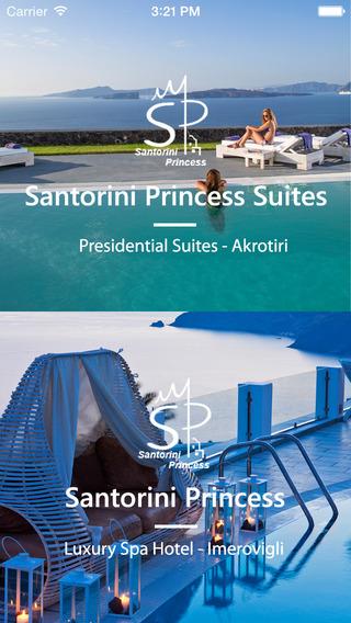 Princess Santorini For iPhone