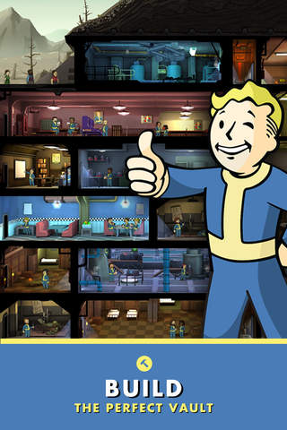 iphone Fallout Shelter Screenshot 2