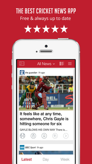 【免費運動App】Cricket News, Live Scores & Videos - Sportfusion-APP點子