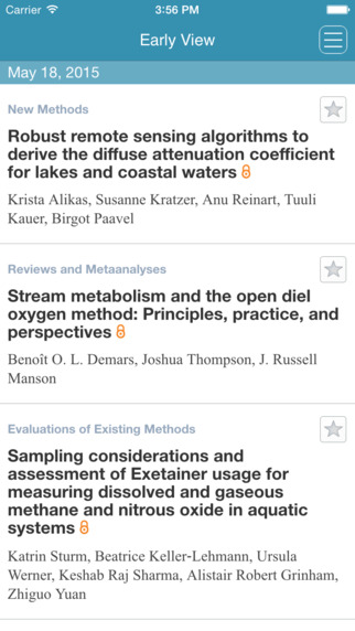 Limnology and Oceanography: Methods