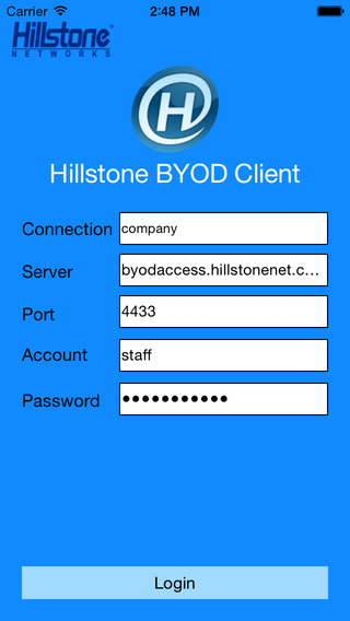 Hillstone BYOD Client