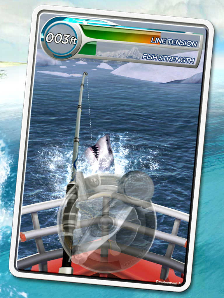 Real fishing that looks funny touch arcade for Real fishing games